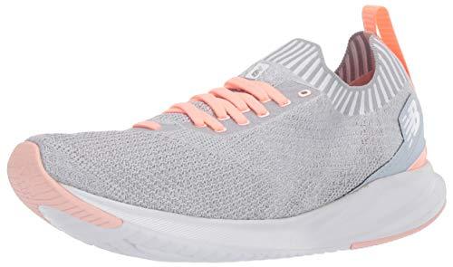New Balance Women's Vizo Pro Run Knit V1 Shoe, Light Cyclone/Ginger Pink/Peach Soda, 6 Wide