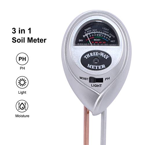 Learn More About MAMASAM 3 in 1 Ph Soil Moisture Meter Acidity Humidity Sunlight Botanical Garden Fo...