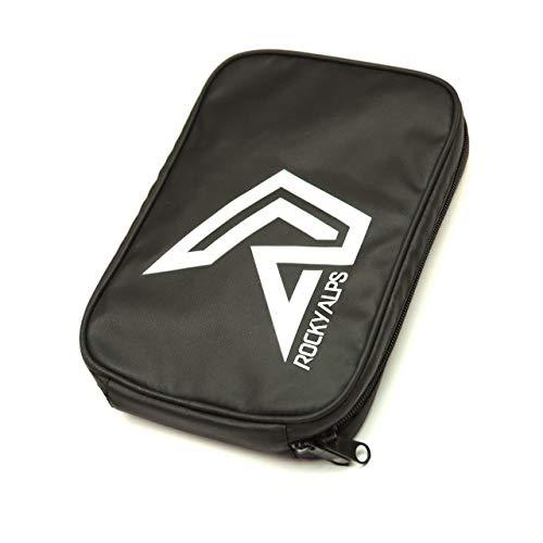 Rocky Alps Mountainbike Toolbag/Werkzeugtasche für Ihr Fahrrad Werkzeug (Multitool, Ersatzschlauch, Reifenheber, Luftpumpe, Flickzeug) und Ersatzteile für unterwegs