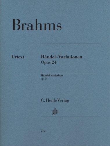 Händel-Variationen op. 24 [Lingua inglese]
