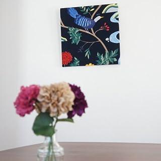 ファブリックアートパネル ボラスコットン/boras cotton BIRDLAND【L】/NABY 500×500mm