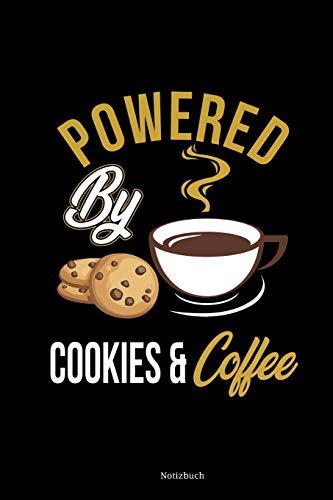 Notizbuch: DIN A5 Liniert Notizblock Für Kaffeeliebhaber | Cookie Notizheft | Lustige Kaffee Sprüche Kekse Dankbarkeitsbuch & Planer
