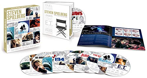 Amazon - Spielberg Director's Collection on Blu-ray $19.99