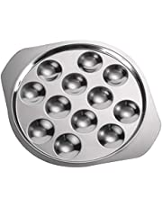 Cabilock - Plato de caracol (12 agujeros, plato de cónico, barbacoa, caracol, 1 unidad)