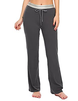 L'AMORE Stretched Sport Track Pants High Waist Yoga Pants For Women