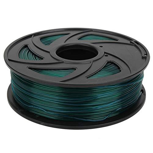 Ccylez Filamento PLA per Stampante 3D da 1,75 mm, filamento di Accessori per Stampante 3D da 1 kg Materiali di consumo per molatura, lucidatura, Taglio, spruzzatura, verniciatura
