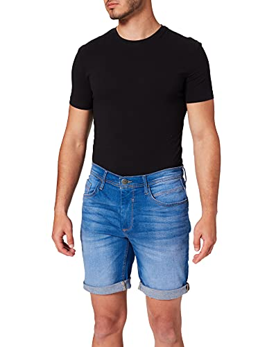 Blend Herren 20711770 Jeans-Shorts, 200289_Denim Clear Blue, L