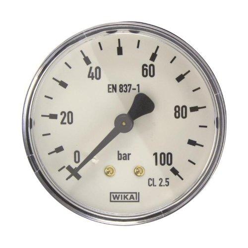 Manometer, NG63, 0-100 bar - WIKA 111.12 - 9084002