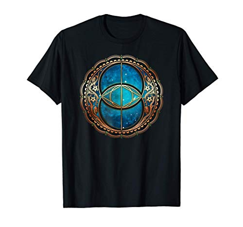 Vesica Piscis, Chalice Well Celta, Símbolo Geometría Sagrada Camiseta