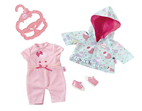 Zapf Creation 701850 Baby Annabell Kleines Spieloutfit 36cm, rosa, Mint