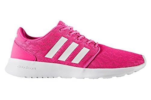 adidas Damen Cf Qt Racer W Fitnessschuhe, Pink (Rosimp/Ftwbla/Rosimp 000), 40 EU