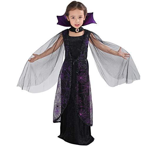 EraSpooky Mädchen Fledermaus Kostüm Vampir Faschingskostüme Cosplay Halloween Party Karneval Fastnacht Tierkostüm