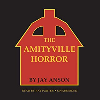 The Amityville Horror audiobook cover art