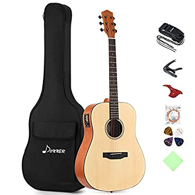 Donner Electric Acoustic Guitar