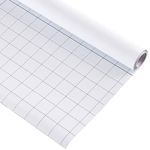 FEOMOS Weiße Fensterfolie Blickdicht Sichtschutzfolie Selbstklebend 100% Lichtundurchlässig Scheibenfolie Statische Dunkel für Schlafzimmer Badezimmer 44cm x 200cm