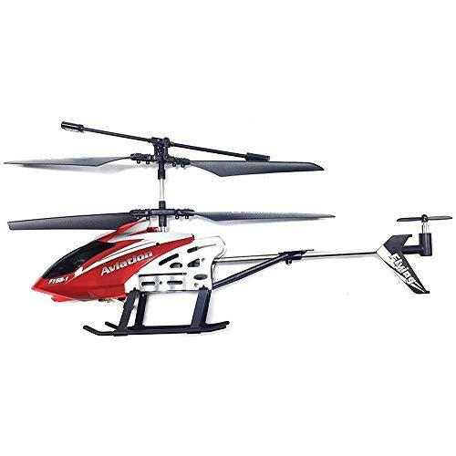 Remote Control Hubschrauber Spielzeug 3,5 CH Eingebauter Gyro Anti-Collision RC-Drohspielzeug mit LED-Licht Navigation Gyroskop Stabilisierungssystem Indoor / Outdoor Flugzeug Flugzeug for Kinder Alte