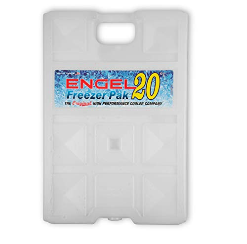 Engel 20 Degree Large Non-Toxic Hard Shell Cooler Pak; Ice Gel Cold Pack, 5 Lbs