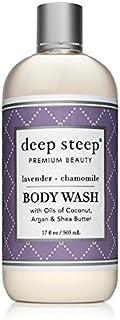 Deep Steep Body Wash, 17 Ounce (Lavender Chamomile)
