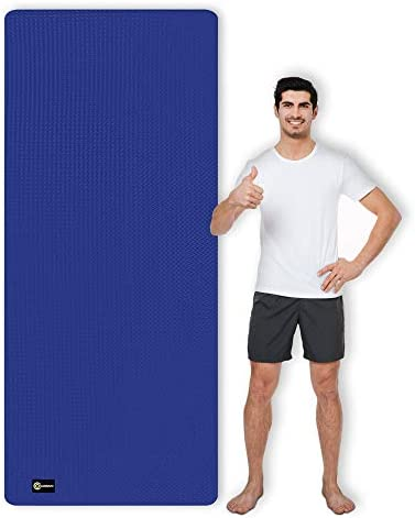 CAMBIVO Large Yoga Mat 7 x 2 5 x 6mm Extra Long and Wide TPE Workout Mat for Women and Men Large product image