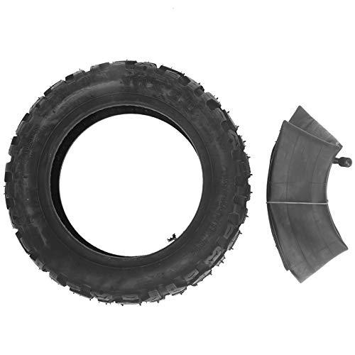 Alomejor Neumático Antideslizante de Goma Espesa de 10 Pulgadas Neumático Interior y Exterior de Scooter eléctrico 10x3.0 Neumáticos inflables universales