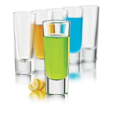 Libbey 2-Ounce Clear Shooter Glass Set, 6-Piece