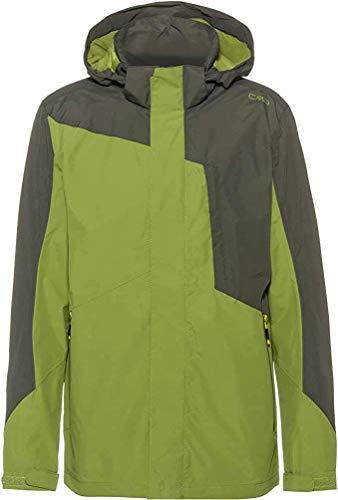 Cmp Man Mid Jacket Fix Hood 5XL