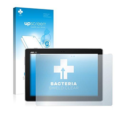 upscreen Antibakterielle Schutzfolie kompatibel mit Asus ZenPad 10 Z301MFL klare Bildschirmschutz-Folie