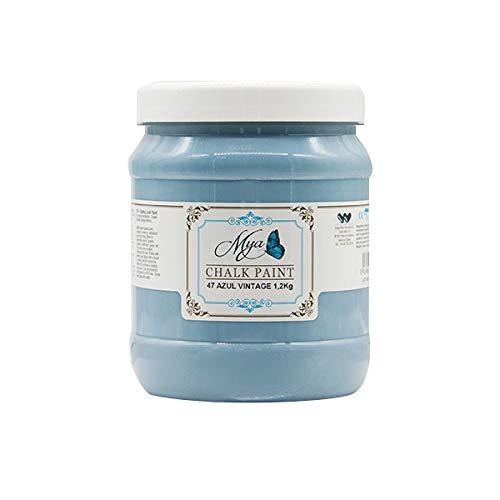 Chalk Paint MYA 47 Azul Vintage, 1.2kg