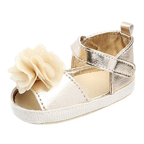 Baby Shoes Beach Sandals,Ewendy Baby Print Fleur Cute chaussures pour tout-petits bébé velcro paillettes Sandales antidérapantes