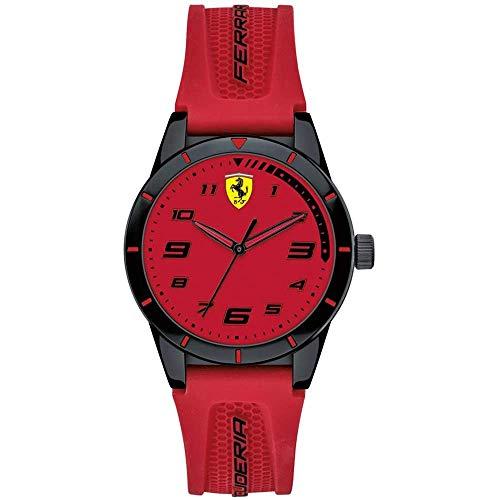Ferrari Reloj Analógico para Hombre de Cuarzo con Correa en Nylon 830623