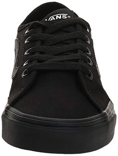 Vans Filmore Decon, Sneaker Donna, Nero ((Canvas) Black/Black 186), 37 EU