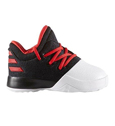 adidas Harden Vol 1 (BW0628) Zapatos para bebé Negro/Escarlata/Blanco
