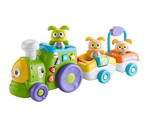 Fisher-Price Lernspielzeug für Babys ab 9 Monaten (Mattel) Robi-Zug Sin Talla bunt