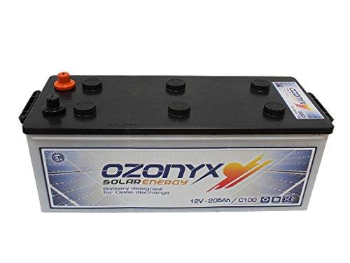 Batería Solar 205AH OZONYX Solar Abierta