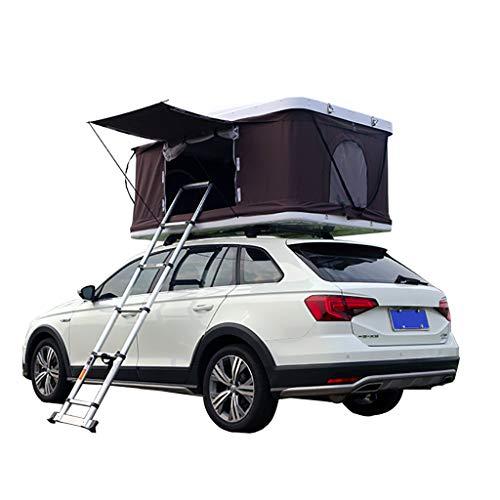 Vuurwolk Daktent Camping ABS Auto Tent, Hard Top Tent Een Slaapkamer Hydraulische Helikopter Met Aluminium Vouwladder 2-3 Personen
