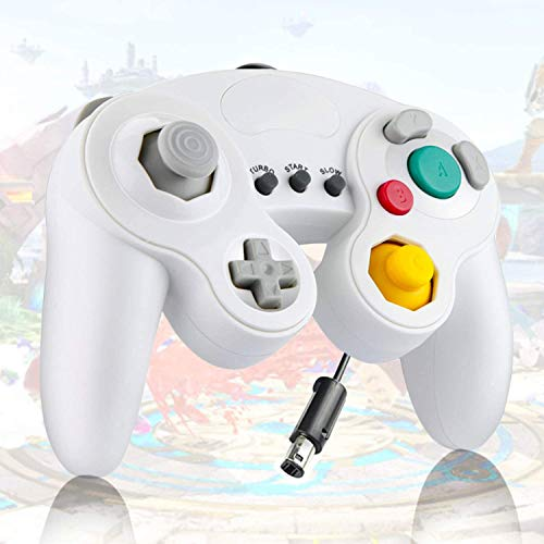 Donop classical cable コントローラーGameCube Wii(白い)