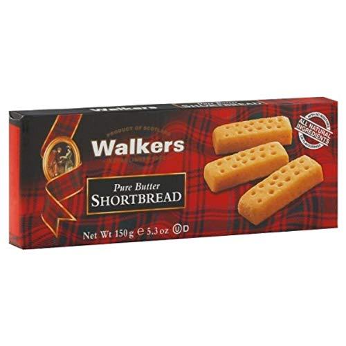 12 x 150 Gram - Walkers Stem Ginger Biscuits / Biscotti Scozzesi allo Zenzero