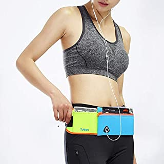 FLT Large Capacity Outdoor Sports Jogging Gym Waist Pack(Black) FLT (Color : Green)
