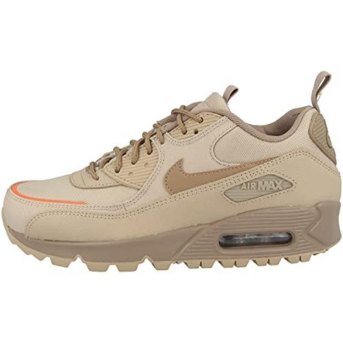 Nike Zapatillas para hombre Low Air Max 90 Surplus, color Marrón, talla 38.5 EU