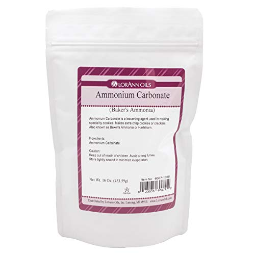 LorAnn Baker's Ammonia ( Ammonium Carbonate) 2.7 ounce Shaker Jar