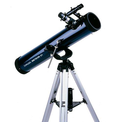 Dörr Danubia Meteor 31 komplett ausgestattetes Reflektorteleskop (76mm Öffnung)