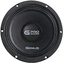 "$67 » Genius GPRO-M158 8"" 400 Watts-Max Midrange High Power Car Audio Speaker 8-Ohms"