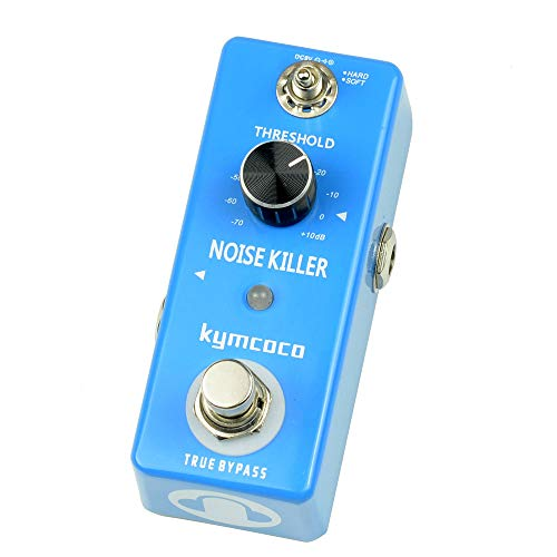 ACCOCO Noise Killer Guitar Effect Pedal Noise Gate Pedal 2 Modes True Bypass for Electric Guitars