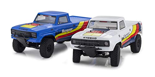 Kyosho - Outlaw Rampage 1:10 EP 2WD Truck (KT231P) T2 BLAU READYSET - K.34361T2B