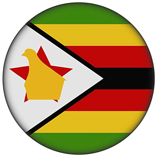 FanShirts4u Button/Badge/Pin - I Love SIMBABWE Fahne Flagge (SIMBABWE/Flagge)
