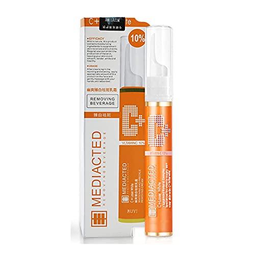 KUOGE Instant Blemish Removal Gel VC Serum Brighten Skin Care Cream?Whitening Freckle Serum Brighten Skin (1Pc)