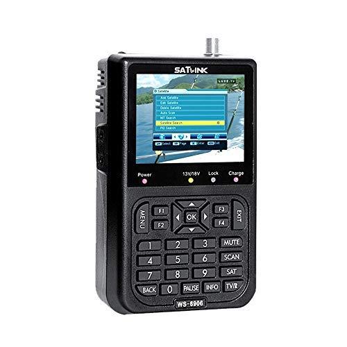 KKmoon Satellite Signal Detector, SATLINK WS6906 3.5in LCD Display Data Digital Satellite Signal Finder Meter