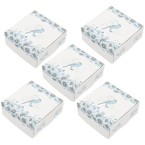 STOBOK 2 Paquetes de Cajas de Regalo de Papel Girasol Impreso para Boda Presente Dama de Honor Propuesta Regalo Graduación Vacaciones Compromisos Y Navidad (Colores Surtidos)