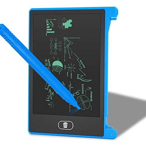 KDXBCAYKI 4,4 inch LCD Tablet Mini Elektronisch Tekenbord Doven Persoon Exchange Board Flexibele LCD Digitale Notebook Whiteboard Pens roze