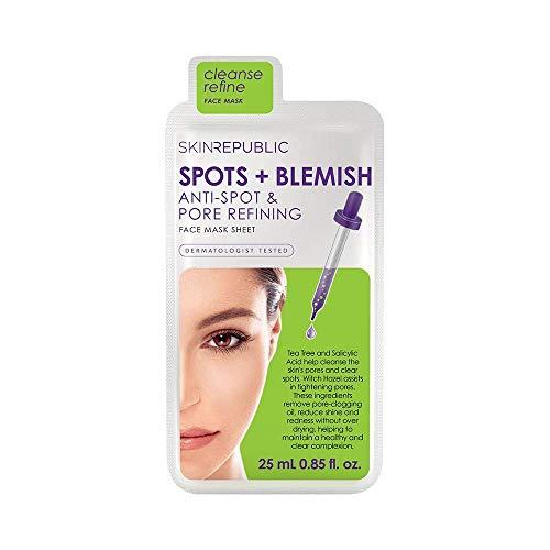 Spots + Blemish Face Mask Sheet